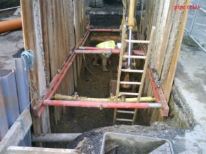 timperley drain repairs